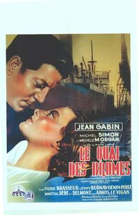 Port Of Shadows - 11 x 17 Movie Poster - Belgian Style A