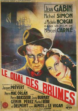 Port Of Shadows - 27 x 40 Movie Poster - French Style B