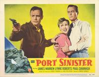 Port Sinister - 11 x 14 Movie Poster - Style F