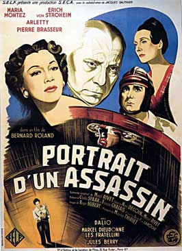 Portrait d'un assassin - 11 x 17 Movie Poster - French Style A