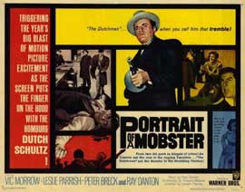 Portrait of a Mobster - 22 x 28 Movie Poster - Half Sheet Style A