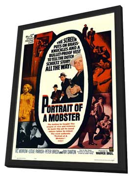 Portrait of a Mobster - 11 x 17 Movie Poster - Style A - in Deluxe Wood Frame