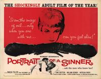 Portrait of a Sinner - 22 x 28 Movie Poster - Half Sheet Style A