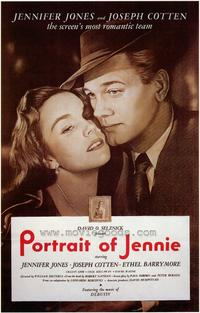 Portrait of Jennie - 43 x 62 Movie Poster - Bus Shelter Style A