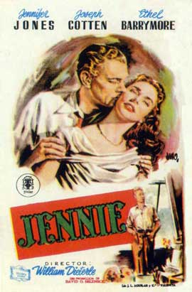 Portrait of Jennie - 11 x 17 Movie Poster - Spanish Style A