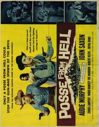 Posse From Hell - 22 x 28 Movie Poster - Half Sheet Style B