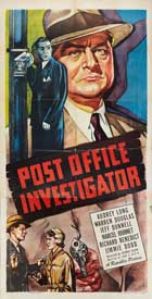 Post Office Investigator - 20 x 40 Movie Poster - Style A
