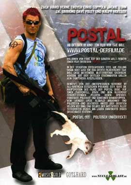 postal - 11 x 17 Movie Poster - German Style A