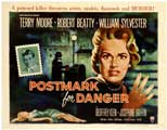 Postmark for Danger - 22 x 28 Movie Poster - Half Sheet Style A