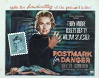 Postmark for Danger - 11 x 14 Poster UK Style A