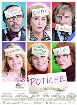 Potiche - 27 x 40 Movie Poster - French Style A