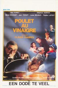 Poulet au vinaigre - 27 x 40 Movie Poster - Belgian Style A