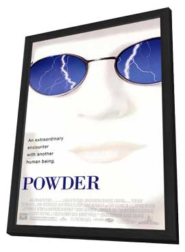 Powder - 11 x 17 Movie Poster - Style B - in Deluxe Wood Frame