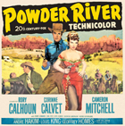 Powder River - 11 x 17 Movie Poster - Style B