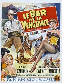 Powder River - 11 x 17 Movie Poster - Belgian Style A
