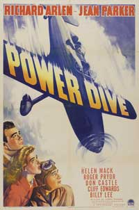 Power Dive - 11 x 17 Movie Poster - Style A