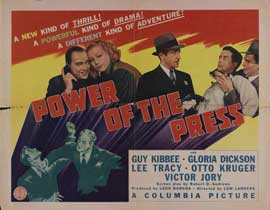 Power of the Press - 11 x 14 Movie Poster - Style A
