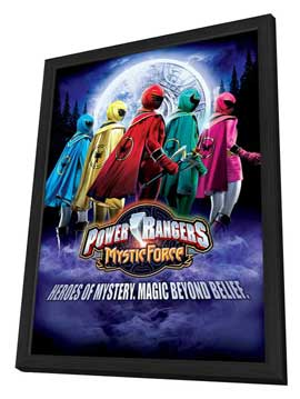 Power Rangers Mystic Force - 11 x 17 Movie Poster - Style A - in Deluxe Wood Frame