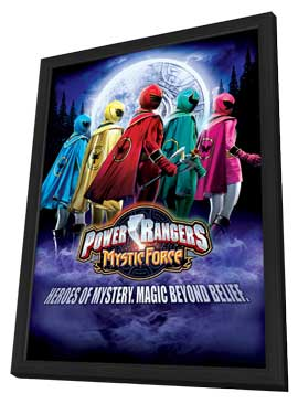 Power Rangers Mystic Force - 27 x 40 Movie Poster - Style A - in Deluxe Wood Frame