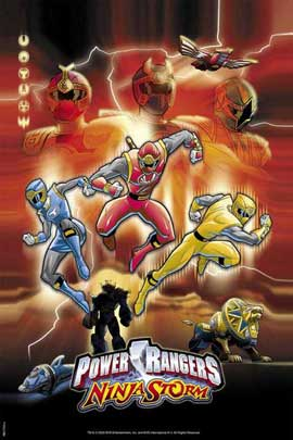 Power Rangers Ninja Storm - 27 x 40 Movie Poster - Style A