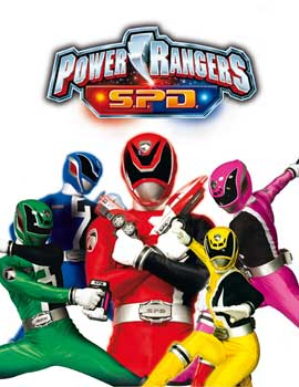 Power Rangers S.P.D. (TV) - 11 x 17 TV Poster - Style A