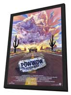 Powwow Highway - 27 x 40 Movie Poster - Style A - in Deluxe Wood Frame