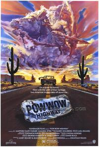 Powwow Highway - 43 x 62 Movie Poster - Bus Shelter Style A