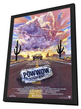 Powwow Highway - 11 x 17 Movie Poster - Style A - in Deluxe Wood Frame