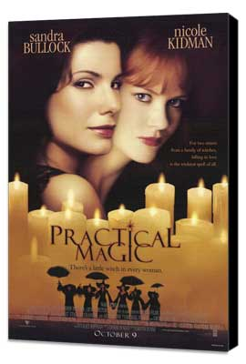 Practical Magic - 27 x 40 Movie Poster - Style A - Museum Wrapped Canvas