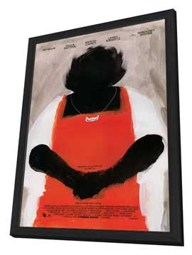 Precious: Based on the Novel Push by Sapphire - 27 x 40 Movie Poster - Style B - in Deluxe Wood Frame