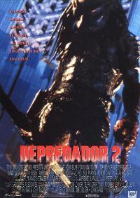 Predator 2 - 27 x 40 Movie Poster - Spanish Style B