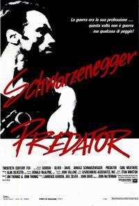 Predator - 27 x 40 Movie Poster - Italian Style A