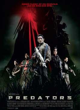 Predators - 27 x 40 Movie Poster - Belgian Style B