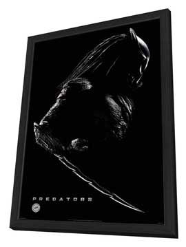 Predators - 27 x 40 Movie Poster - Style A - in Deluxe Wood Frame