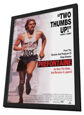 Prefontaine - 11 x 17 Movie Poster - Style A - in Deluxe Wood Frame