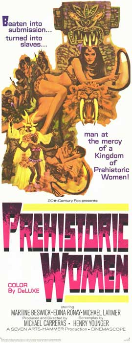 Prehistoric Women - 11 x 17 Movie Poster - Style B