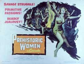 Prehistoric Women - 11 x 14 Movie Poster - Style C
