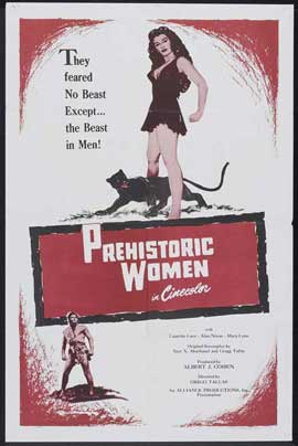 Prehistoric Women - 27 x 40 Movie Poster - Style A