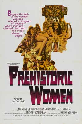 Prehistoric Women - 11 x 17 Movie Poster - Style C