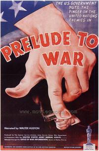 Prelude to War - 43 x 62 Movie Poster - Bus Shelter Style A