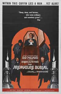 Premature Burial - 43 x 62 Movie Poster - Bus Shelter Style A
