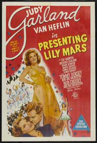 Presenting Lily Mars - 43 x 62 Movie Poster - Bus Shelter Style B