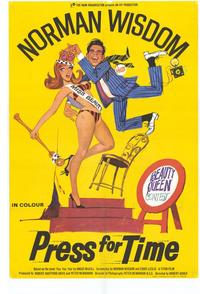 Press for Time - 43 x 62 Movie Poster - Bus Shelter Style A