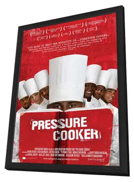 Pressure Cooker - 11 x 17 Movie Poster - Style A - in Deluxe Wood Frame