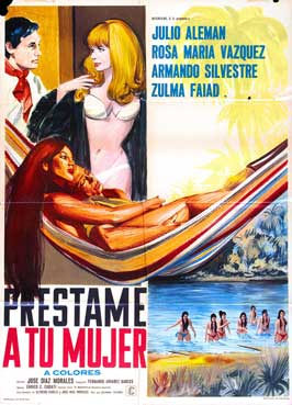 Prestame a tu mujer - 11 x 17 Movie Poster - Spanish Style A