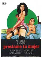 Prestame tu mujer - 11 x 17 Movie Poster - Spanish Style A