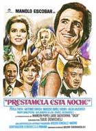 Prestamela esta noche - 11 x 17 Movie Poster - Spanish Style A
