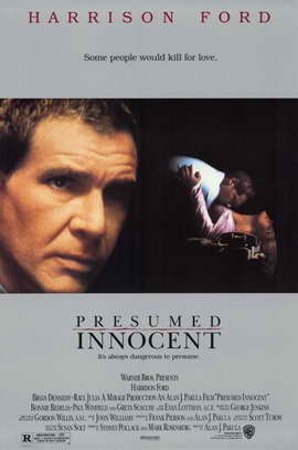 Presumed Innocent - 11 x 17 Movie Poster - Style A