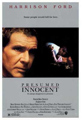 Presumed Innocent - 27 x 40 Movie Poster - Style A