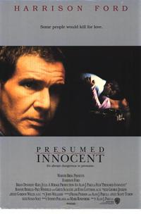 Presumed Innocent - 43 x 62 Movie Poster - Bus Shelter Style A